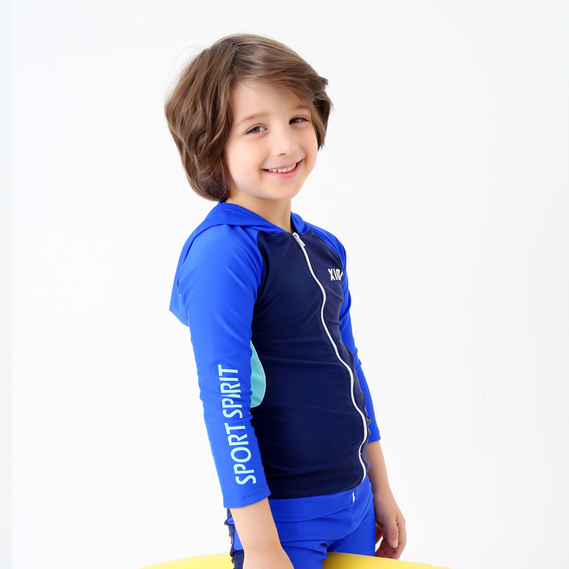 5d65185c66 Swim Kids Boys Girls One Piece Long Sleeves Swimsuit,Rash Guards UV Sun  Protection Swim Set ...