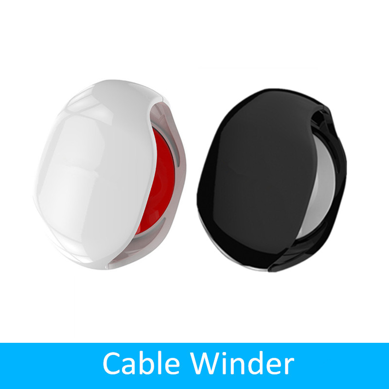 AUTO <font><b>Cable</b></font> Cord Wire <font><b>Organizer</b></font> Bobbin Winder Holder Smart For Headphones USB <font><b>Cable</b></font> Earphone image