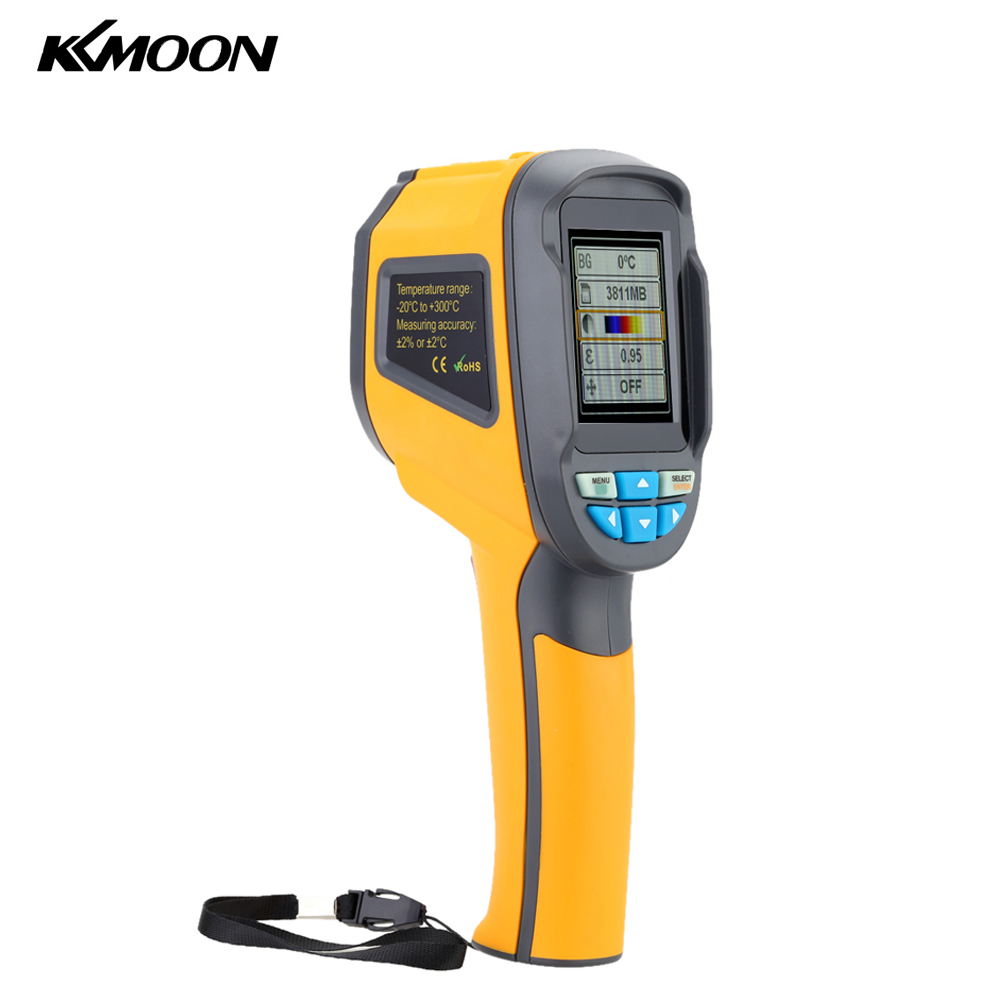 Kkmoon Handheld Imager Pyrometer Thermal Imaging Camera