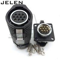 Xhe20  ip67  10 핀 방수 커넥터 플러그 (암) 및 소켓 (수)  10 핀 전원 케이블 커넥터  자동차 커넥터