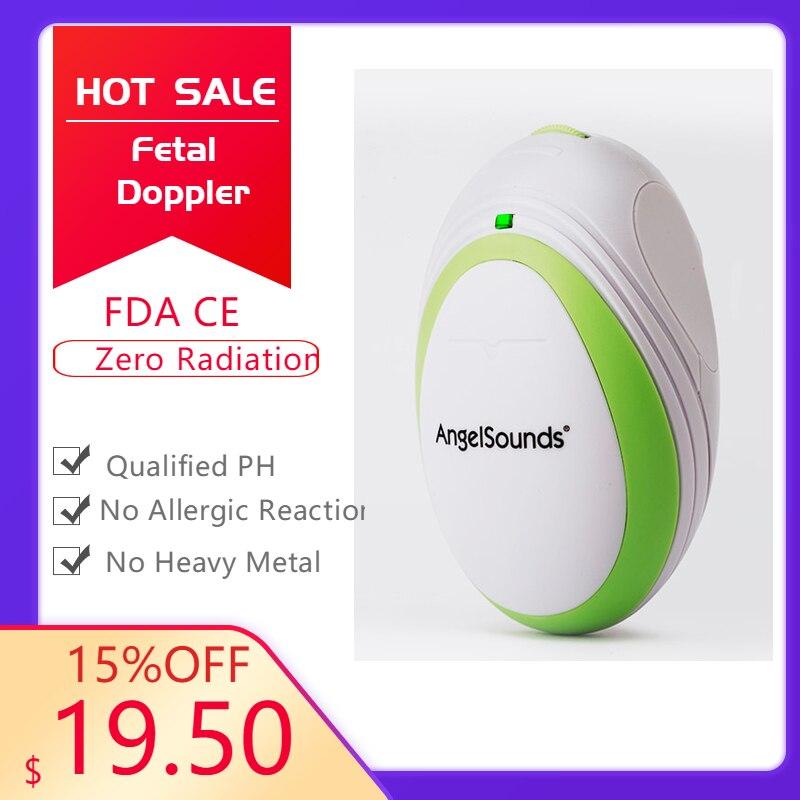 Fetal Doppler, Pocket Ultrasound Fetal Monitor, Prenatal Monitor, AngelSound Series Factory Directly