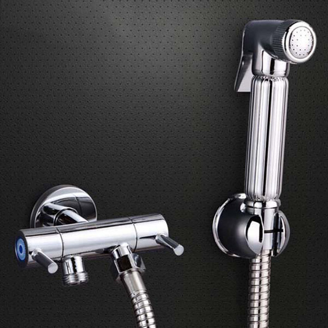 Hot Brass Toilet Shower Spray Set and 1.5m Stainless Steel ...