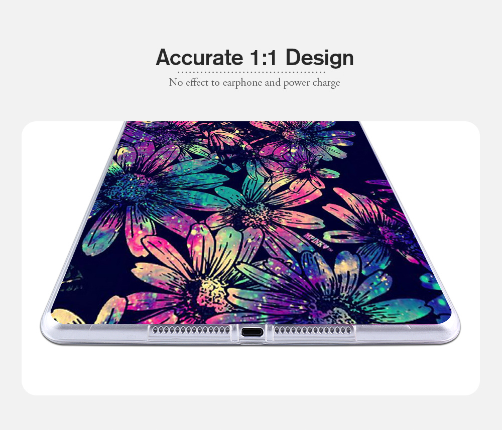 Ultra-Thin Soft TPU Cute Cartoon Animals Tablet Covers Painted Cases For Apple Ipad Pro 9.7 Case A1673 A1674 A1675