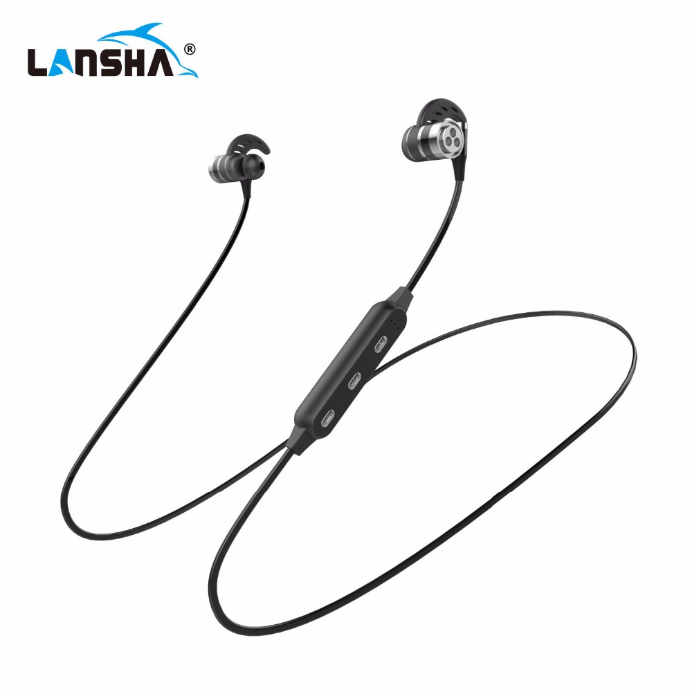 Wireless Headphones Bluetooth Headset Sport Running Magnetic Stereo Neckband Earphone With Mic CSR 4.1 For Phone Iphone Samsung remax rb s6 wireless bluetooth earphone headphones with microphone sport stereo bluetooth headset for iphone android phone