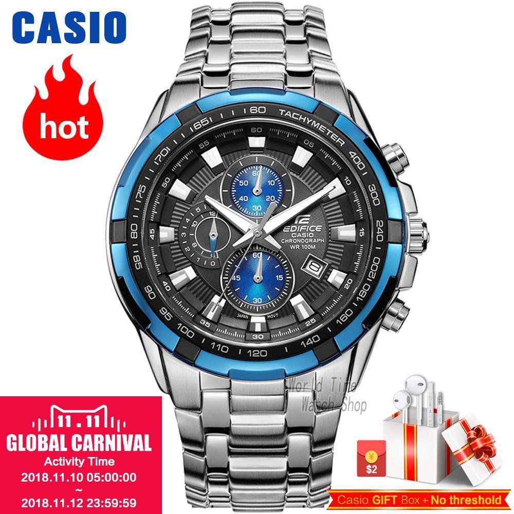 Casio watch Racing Men's Watch Sports Waterproof Quartz Watch EF-539D-1A2 EF-540D-7A EF-539D-1A EF-539D-1A5 EF-540D-1A casio ef 530p 7a