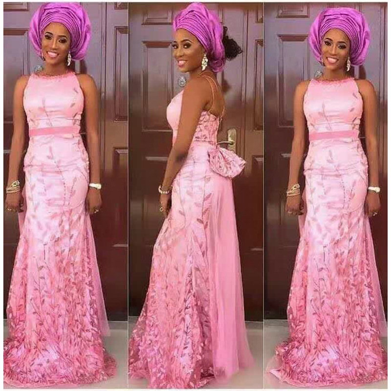 New Pink 2016 High Quality French Tulle Sequin French Lace Fabric Wedding Decoration Women Africa Embroidered