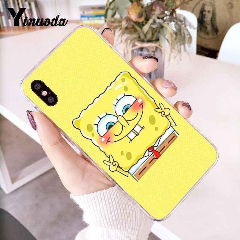 Yinuoda melhor amigo tpu macio caso de telefone capa para iphone x xs max 6 s 7plus 8 mais 5 5S xr 10 caso
