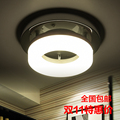 Modern minimalist aisle lights lamp porch lamp round cloakroom lamp LED balcony ceiling lamps 20cm