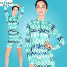 Anti-UV Sunscreen Jellyfish clothing Large size Siamese Long sleeves Swimwear Swimsuit