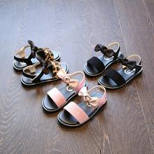 Kids Sandals Girls Shoes New Brand Summer Bowknot Fashion Pr