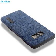 KEYSION Linen Case for Samsung Galaxy S8 S8Plus