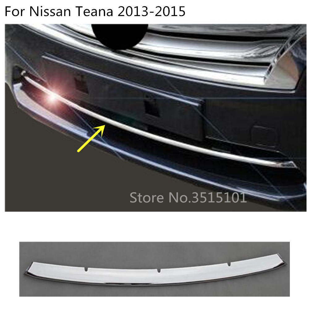 Car body cover protection ABS Chrome trim Front bottom Grid Grill Grille Around 1pcs For Nissan Teana Altima 2013 2014 2015 Гриль