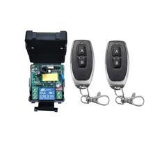 Universal 433 mhz 220 v 1 ch RF wireless radio fernbedienung beleuchtung schalter empfänger sender 10A relais