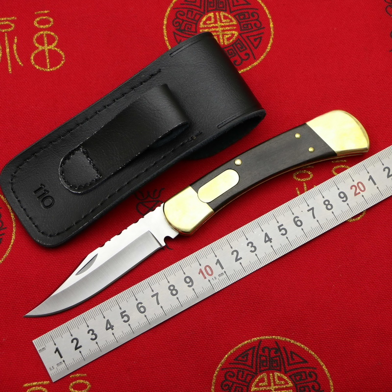 LOVOCOO  #Bu#CK110 brass + wooden handle 440C blade folding fruit knife hunting pocket outdoor EDC tool kitchen universal knifeLOVOCOO  #Bu#CK110 brass + wooden handle 440C blade folding fruit knife hunting pocket outdoor EDC tool kitchen universal knife