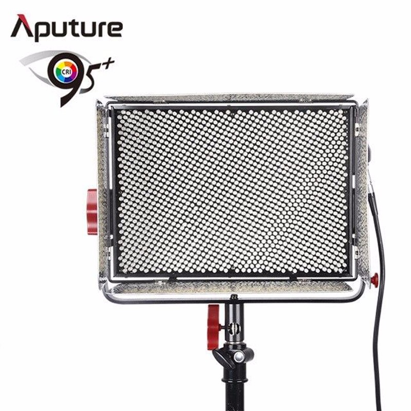 Aputure Light Storm LS 1 1s 1536 SMD lamp beads Daylight LED Light Panel with Anton-mount Plate + F-V Converter Adapter (5500K)