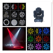 (8 pieces/lot) 60W moving head led spot 1*60W White Color zhen li LEDs moving led Color/Gobo Wheel Built In DMX 9/11 CH(China)