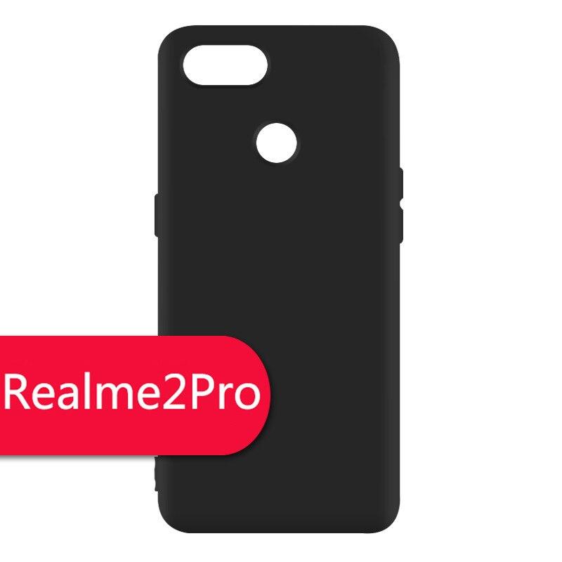 Matte Silicone Soft TPU Cover Case For Oppo Realme 2 Pro Protective Phone  Case Realme2Pro Back Cover For Oppo Realme 2 Pro