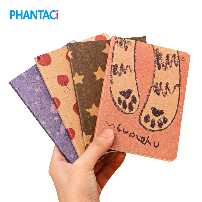 Cute Mini Fantastic Notebook Lovely Cute Notebooks For Writing 8 Types 12.5*9 cm Daily Book Notepad Stationery Office School