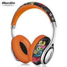 Bluedio A2 мини Портативный гарнитура Bluetooth модные Беспроводной наушники для музыки и телефон с микрофоном для наушников