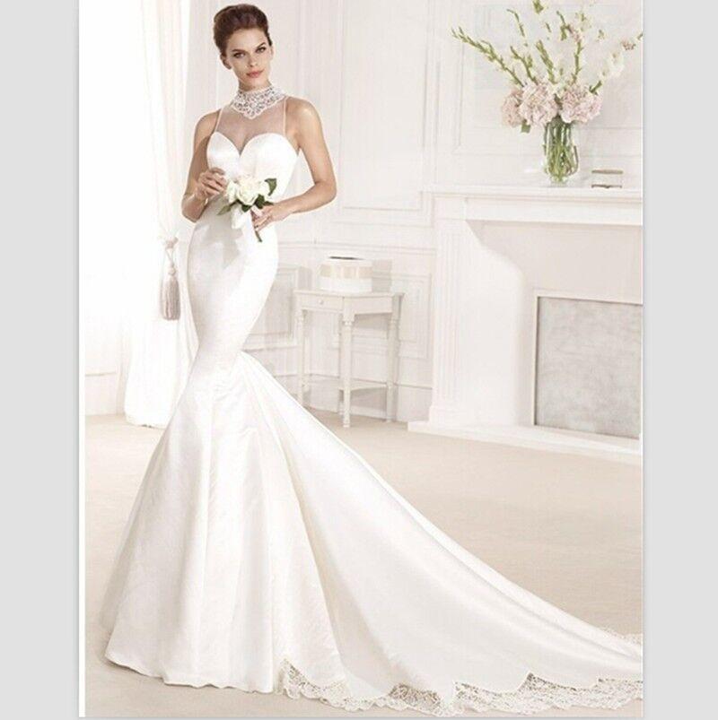 Lace Halter Wedding Gown: 2015 Charming Halter Bridal Gown Sexy Vestidos De Noiva