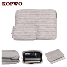 KOPWO Gray Laptop Liner Sleeve Bag Notebook Inner Bag for Apple Macbook Air Pro 13 14 15 Inch Retina A1932 A1466 A1706 A1708