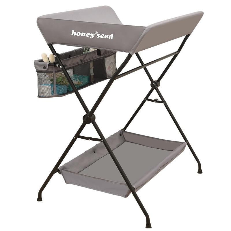 Table à langer bébé nouveau-né table de soins changement table à langer massage table de bain tactile multi-fonction pliant Oxford avec règle