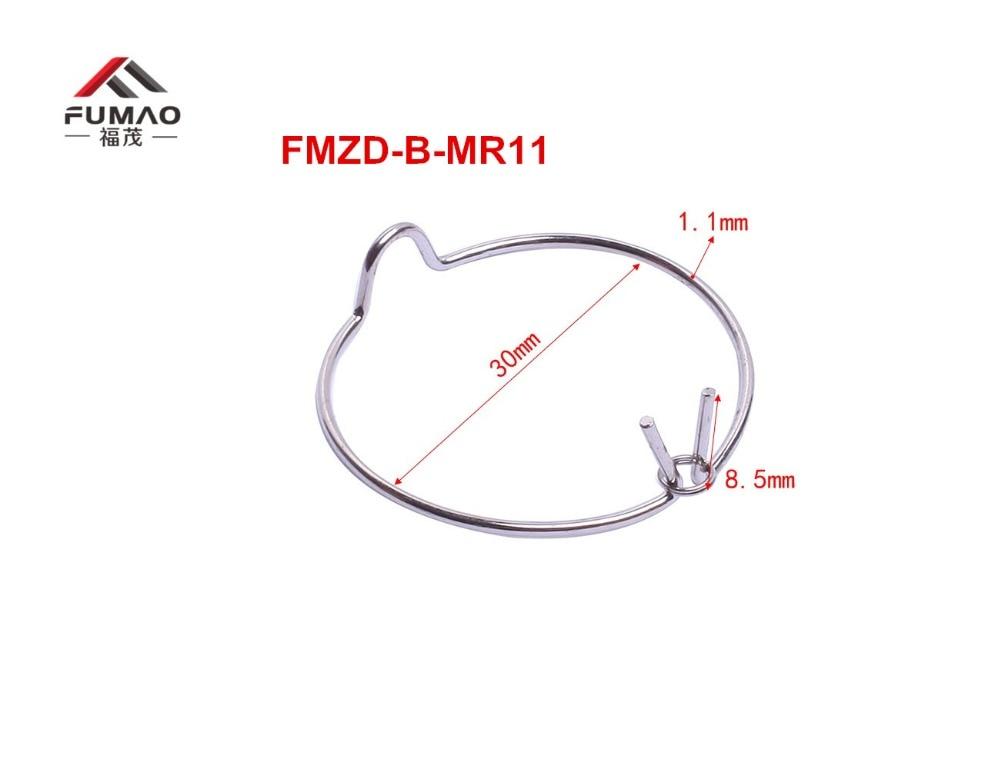 Купить с кэшбэком Manufacture Custom backside MR11 downlight retaining spring clip