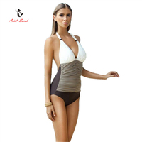 2017 Ariel Sarah Brand Hot Sale Summer Sexy One Piece Suit Women Europe Style Simple Swimwear