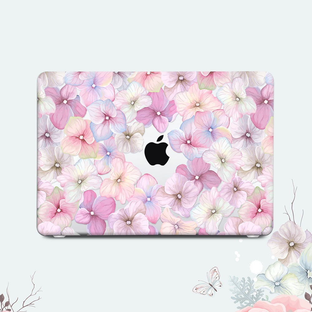 Floral Printing Hard Case for MacBook 110