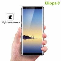 3D borda curvada 9 H à prova de explosão de vidro temperado para Samsung Galaxy Note 8 BORDA protetor de tela de cobertura completa