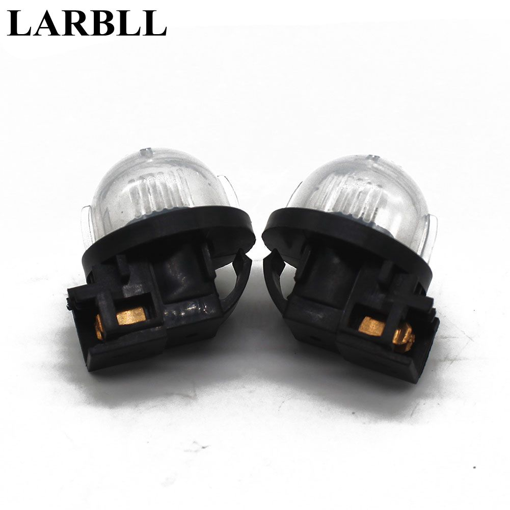 LARBLL Pair New Left&Right License Plate Lamp Light 35910-77J10 Fit Suzuki Swift Alto smaart v 7 new license