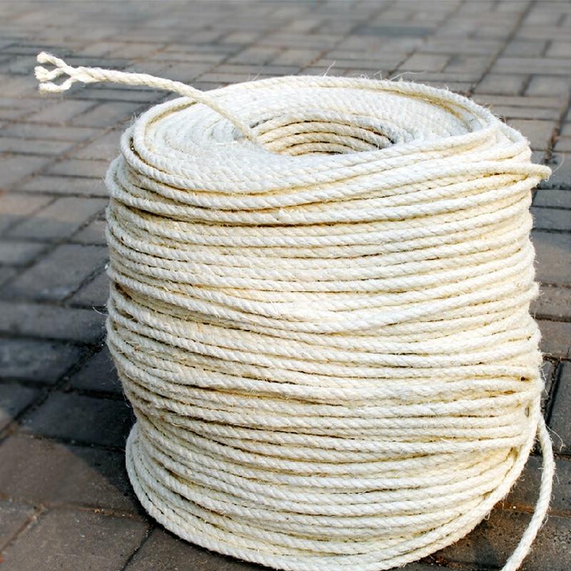 buy 8mm diameter sisal rope for diy cat tree cat scratch board cat climbing. Black Bedroom Furniture Sets. Home Design Ideas
