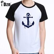 Hope Anchor fashion summer short sleeve Unisex men's t shirt brand clothing cotton comfortable male t-shirt tshirt men clothing
