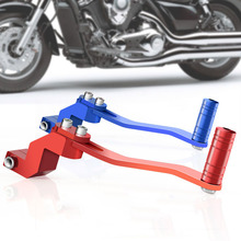 Fit for 110CC 250CC Engines Motorcycle CNC Folding Aluminum Gear Shift Lever Off Road ATV Dirt Bike Off-road Gear Shift Lever