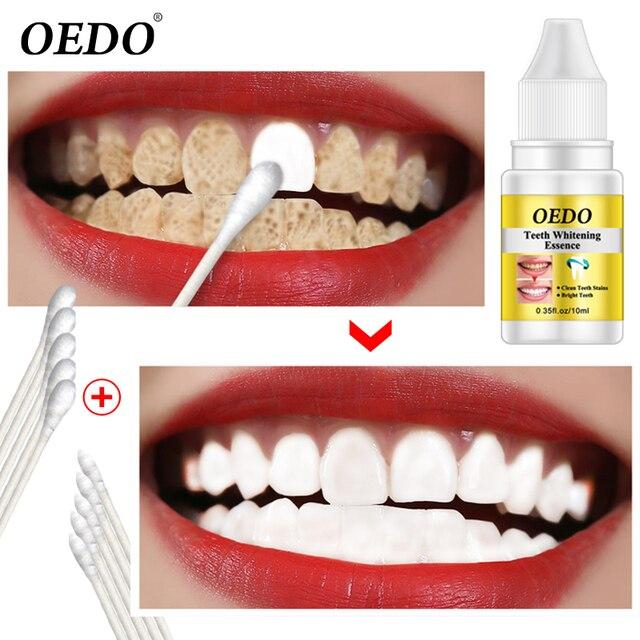 10 ml blanqueamiento de dientes limpieza suero de la esencia de la magia de productos dentales de higiene Oral elimina la placa manchas de agua