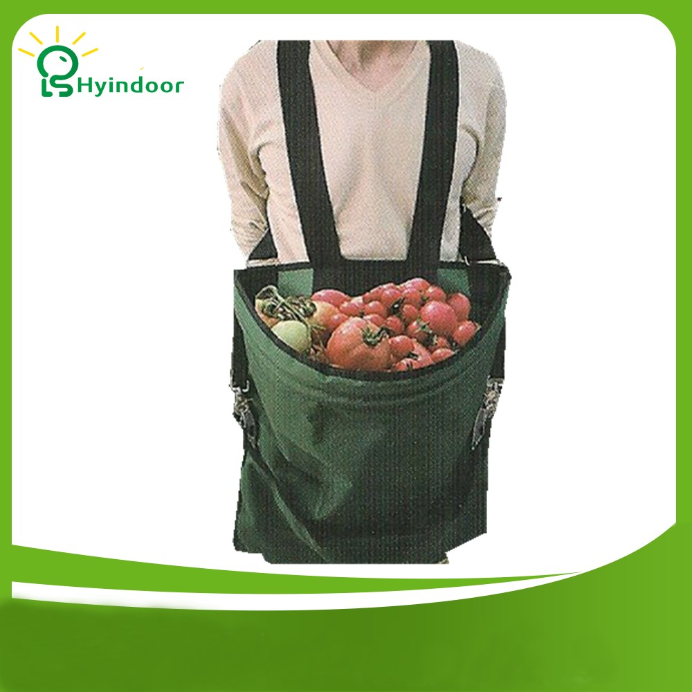 6e0866b2b09 Grow Bags Durable Nylon Picker s Harvest Apron with One Large Volume Pouch  for Gardener
