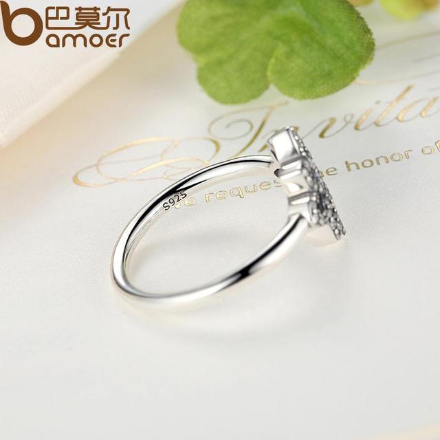 Sterling Silver Flower Finger Ring