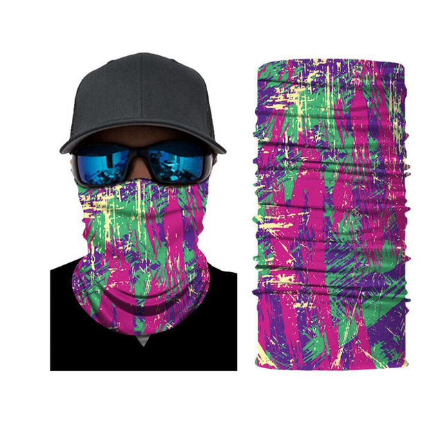 CDCOTN Car Motorcycle & Bike Protective Mask Face Mask Hats Seamless Bandana Scarve Halloween Party Feast Supplies