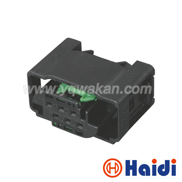 Free shipping 2sets 6pin Audi throttle sensor plug electronic throttle valve connector 1-967616-1