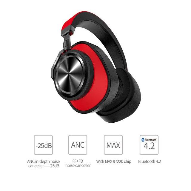 Bluedio T6 Active Шум отмена Беспроводной Bluetooth наушники с микрофоном для музыки аксессуар для сотового телефона