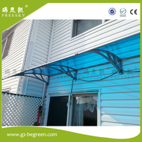 YP100480 100x480cm 39x189in MountainNet 1m X 4 8m UV Rain Protection Awning Polycarbonate Outdoor Awning Patio