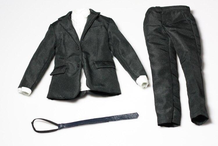 ФОТО 1/6 Custom Mens Suit for TTM19 narrow shoulder body,In stock!