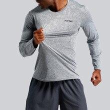 New Original Running T-Shirts Men T-shirt Long Sleeve Compression Gym T Shirt Fitness Sport Top Rashgard Soccer Jersey