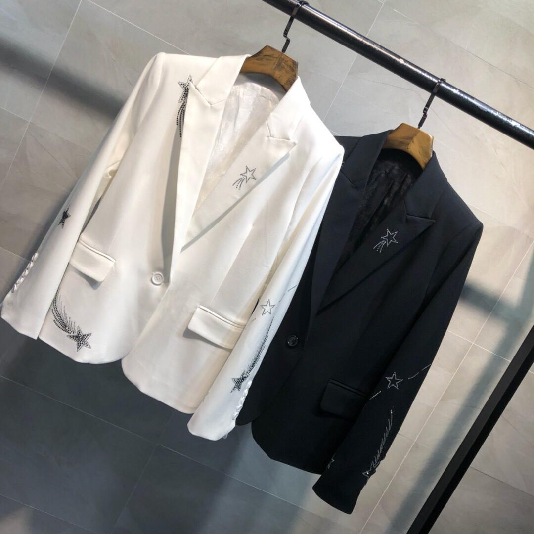 spring fashion coat women diamonds blazer coat 2 color ddxgz3v 3 31