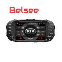 Belsee for Kia Soul Android 8.0 Octa Core PX5 4GB Autoradio Car Stereo 2 Din Head Unit DVD Player GPS Navigation Bluetooth WiFi