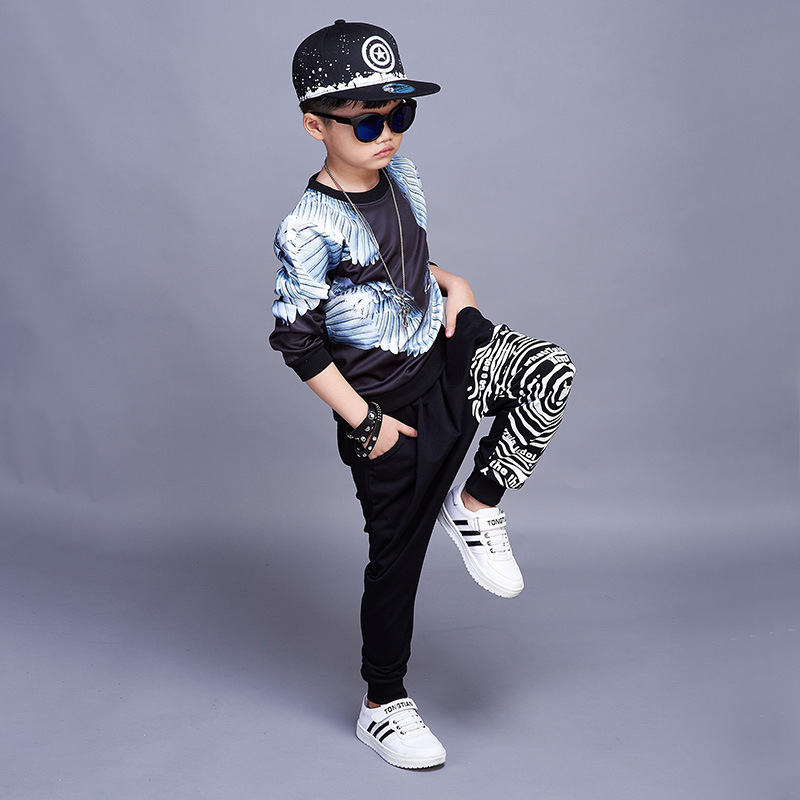 Spring Autumn Kids Clothing Sets Print Children Toddler Baby Kids Boys Clothes Sets Children Clothing Sets For Boys Sports Suits