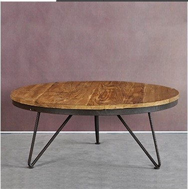 Export Of The Original Single Retro Vintage Style Coffee Table Made Old