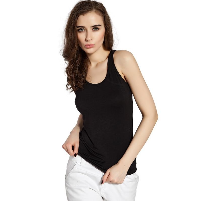 2019 Summer Tank Top Lenceria Encaje Women Camisole Modal Low-cut T-shirts Tank Underwears Women's Intimate Slim Ladies Thin Ves