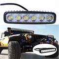 1pcs 18W LED Work Light Motorcycle Fog Lamp Driving Light Bar For 4x4 Offroad SUV Car Truck Trailer Tractor ATV Motorcycle light