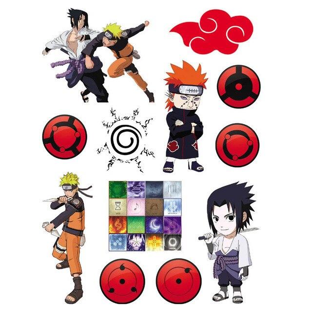 Naruto Etanche Tatouages Temporaires Autocollants Autocollants